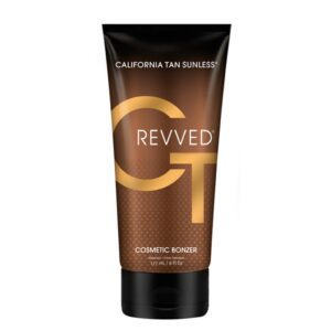 Revved cosmetic bronzer
