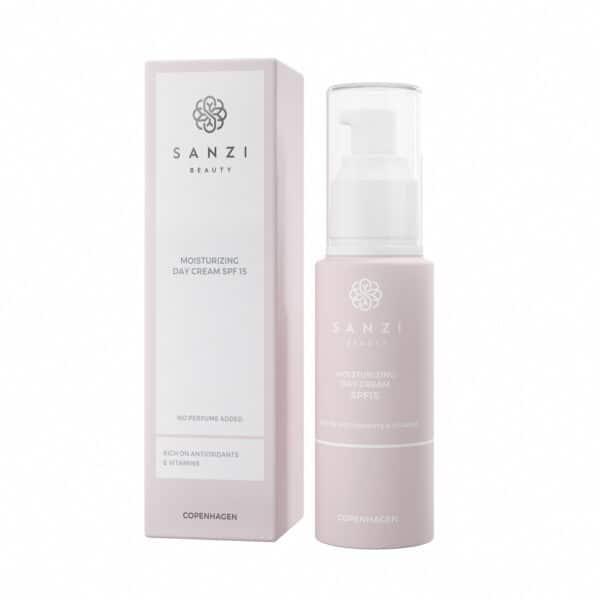 Sanzi beauty moisturizing day cream spf 15